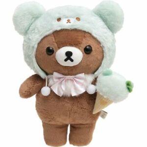 "Rilakkuma Store Plush Chairoi Koguma Mint Chocolate Ice Cream Stuffed Doll 13"""