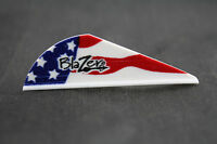 Bohning American Flag Blazer Vanes Fletchings Arrow Bow Hunting Crossbow 50 pack
