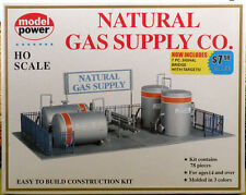 Natural Gas Supply Company Kit for your HO Scale 1:87 Layout by Model Power