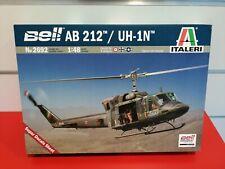 Bell Ab 212 Uh 1n elicottero da guerra kit italeri 1/48 2692 velivolo militare