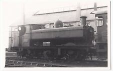 GWR 5700 Class 0-6-0PT Loco no 8724 in BR Ownership, PC size BW Photo