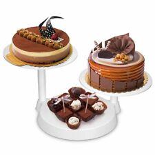 Support à Gâteau 3 Étages Présentoir à Gâteau Tournant pour Gâteau de Mariage