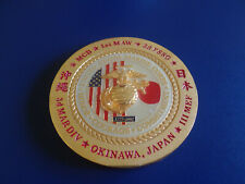 UNITED STATES MARINE CORPS JAPAN CHALLENGE COIN