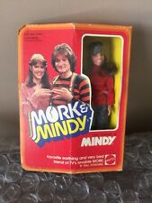 """Mork and Mindy 1979 Vintage Pam Dawber as Mindy Mattel Doll Figure 9"""" New In Box"""