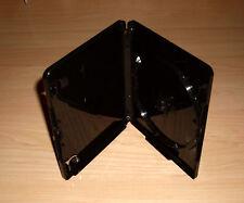 10 Blu Ray Hüllen Einfach 1fach 1-fach Schwarz mit 4K Ultra HD Logo 15mm Neu