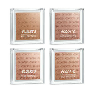 Ecocera Pressed Bronzer 10g - Matte Natural Ecological Tan Velvet VEGAN