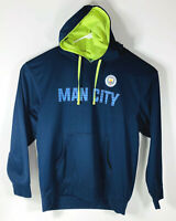 Manchester City Soccer Official Merchandise Hoodie Pullover Sweatshirt Men's  XL