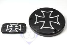 Deckel-Set - Cross - schwarz - Suzuki M / VZR 1800 Intruder