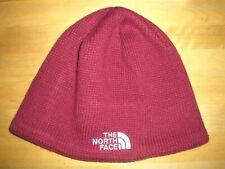 La cara Rib Knit Beanie Sombrero NORTH-Unisex de un tamaño * excelente Estado *
