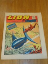 LION & THUNDER 7TH APRIL 1973 BRITISH WEEKLY COMIC FLEETWAY^