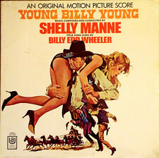 YOUNG BILLY YOUNG - SHELLY MANNE - UNITED ARTISTS - LP SOUNDTRACK - STILL SEALED