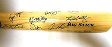 Roy Halladay Jose Bautista Toronto Blue Jays Team Autograph Signed Baseball Bat