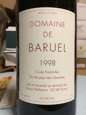 Baruel Vin de pays des Cévennes Cuvée Fontanilles 1998 MAGNUM