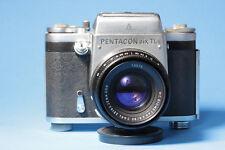 Pentacon six TLs (kleines Mittelformat)  mit Objktiv CZJ MC Biometar 2,8 / 80mm