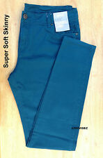 Women's Slim Fit Stretch Skinny Jeans Denim Trousers Pants Size UK 6 - 20  BNWT