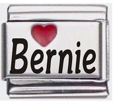 Bernie Laser Name Italian Charm Link