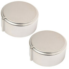 HOTPOINT-ARISTON Genuine Control Knob for Oven Cooker Hob Silver x 2