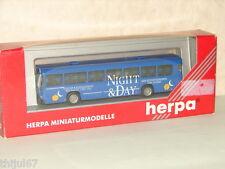 HERPA ( 141383) SUPERBE BUS  AVEC HABILLAGE INTÉRIEUR NEUF EN BOITE HO