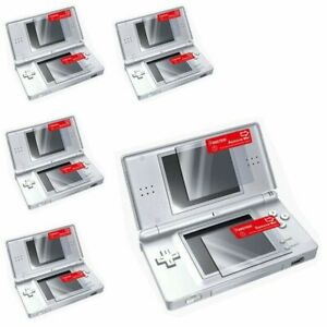 5 NEW SCREEN PROTECTOR SHIELD LCD FILM GUARD FOR NINTENDO DS LITE NDSL