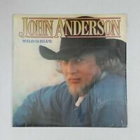 JOHN ANDERSON Wild & Blue W123721 LP Vinyl VG+ near ++ Cover Shrink