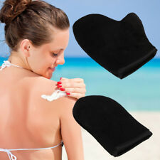 New Self Tan Velvet Fake Tanning Mitt Glove For A Streak Free Application NEW!