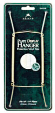 """Tripar 23-1307 Brass Wire Plate Hanger with Hook & Nail, 7-1/2"""" To 9-1/2"""""""