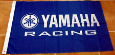 Free Ship to USA YAMAHA FACTORY RACING LOGO FLAG BANNER 3x5 feet ATV yfz yzf fjr