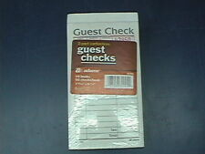 Adams Sa108A 2 Part Carbonless Guest/Restaurant Checks 10 Books of 50 Free Ship
