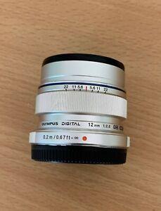 Olympus 12mm f2 lens