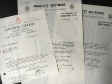 British 1955 Armstrong Siddeley Letterhead Coventry Marriott Brothers Sheffield Attic Advertising