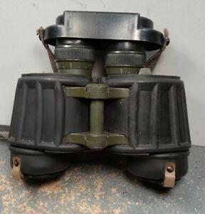 East German Military NVA 7X40 Rubberized Binoculars #3389271