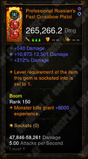 Diablo 3 ROS Xbox One - [Softcore] NEUF 2.6 - Puce Crossbow-Check image!