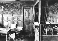 """Photo: 7"""" x 5"""": RMS Titanic Interior: The 1st Class Colonial Bedroom Suite"""