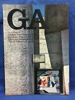 USED GA Global Architecture #7 Le Corbusier Notre Dame Du Haut Japanese Book