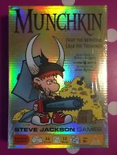 Munchkin Card Game Core Set Foil Holo Retail Edition! New, Factory Sealed! 1408M