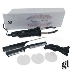 GL PRO KIT - FUSION HEAT CONNECTOR - PRE-BONDED U NAIL TIP HAIR EXTENSIONS