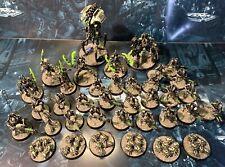 Dipinto indomitus Necron army