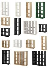 IKEA STORAGE DISPLAY UNIT SHELVING BOOKCASE KALLAX BOXES