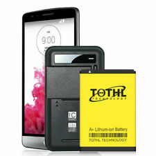 Charging 5000mAh Extended Battery Replacement For Lg G Phone Accessories Set