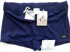 Arch-Ardee Vintage Swim Trunks Briefs For Men Lycra Stretchable Navy DEAD STOCK