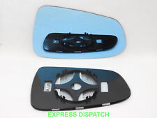 Wing Mirror Glass For TESLA S 2012-18 CONVEX Heated Right BLUE #TS001