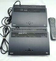 2 DirectTV RCA Satellite Receiver Boxes Model DRD435R With 1 Remote