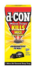 New D-CON No Touch Ultra Set Covered Mouse Trap Reusable Easy & Safe 1920000027
