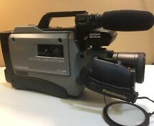 Panasonic AG-455P S-VHS Analog Movie Camcorder W/Hard Case Not Working For Parts