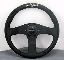 Personal Steering Wheel - Pole Position - 330mm - Black Leather