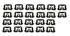 70-74 Camaro Firebird Metal Back Glass Molding Clip Set (22pcs)