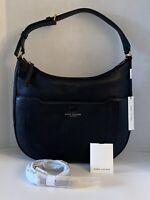 $425 New MARC JACOBS NEWYORK Womens Handbag Crossbody Leather Black M0016395