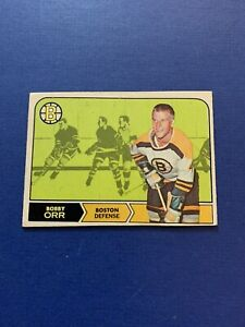 1968-69 O Pee Chee SET BREAK #2 Bobby Orr Boston Bruins