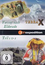 TERRA X - DVD - 2 FOLGEN : Vorstoß nach Eldorado - Teil 1 & 2   ( NEU )