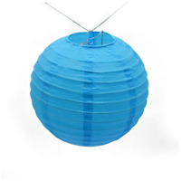 12x blue paper lanterns engagement wedding birthday party home events decoration